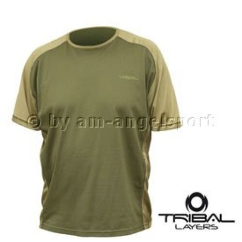 L Shimano Tribal LAYER Short Sleeve T-Shirt Angelshirt Anglershirt Gr