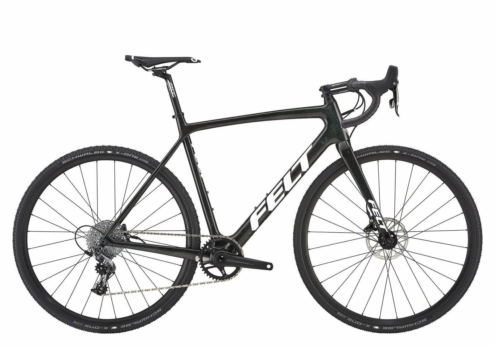 2019 Felt F3X Carbon Cyclocross Bike // Gravel Road CX Disc Sram Rival 1x11  55cm