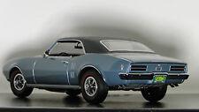 1968 Pontiac Firebird 1 18 Car Hot Rod Race Dragster Drag Carousel Blue Model 24