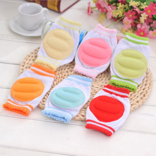 Baby Safety Crawling Cotton Elbow Cushion Toddlers Knee Pads Gear New L