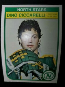 Hockey Card Dino Ciccarelli 1982-83 O-Pee-Chee # 162 NM
