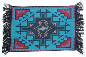 Western-Southwestern-Tabletop-Decor-Southwestern-Design-Placemats-Set-of-4