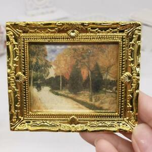 Mini-Oil-Painting-Scenery-Miniature-DIY-1-12-Miniature-Dollhouse-Decor
