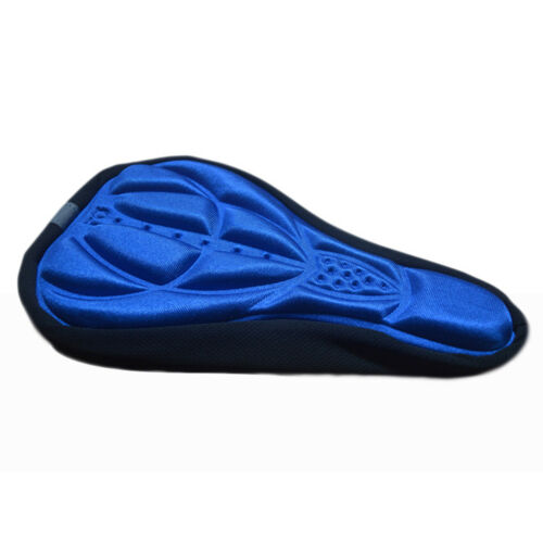 Mountain Bike Saddle Seat Pad Cycling Silicone Gel Cushion Covers Shockproof Sit