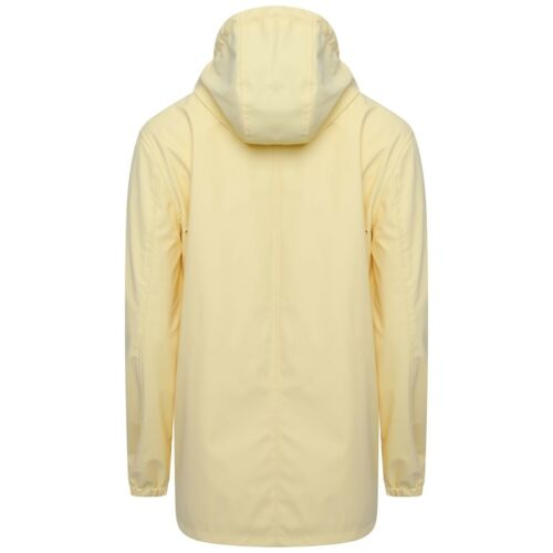 Ladies PU Coated Water Repellent Summer Raincoat Womens Hooded Jacket Size  `