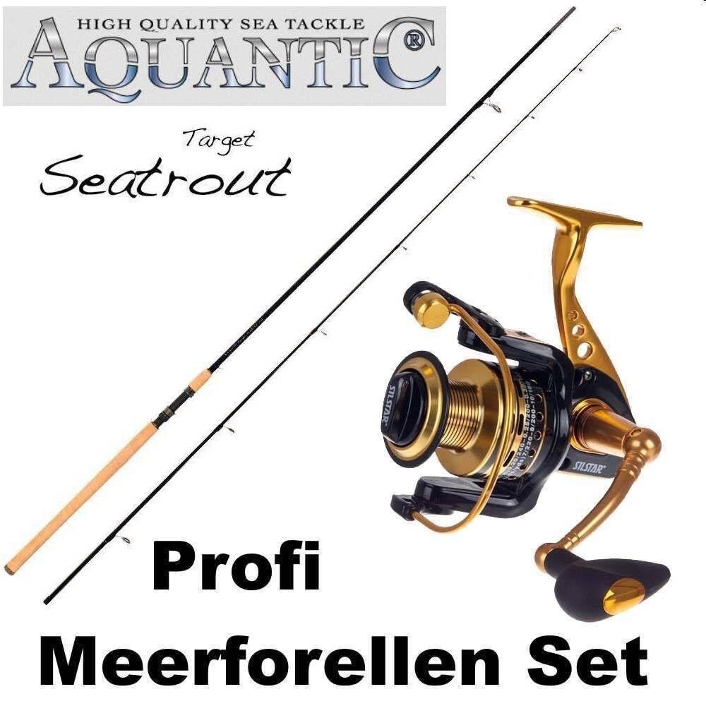 Set capturen +++ aquantic target seatrout + SilEstrella alisia 3500 +++ deal