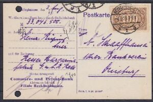 DR-Mi-Nr-222-b-EF-Zahlungs-Avis-PP-15-geprueft-Infla-Recklinghausen-1923