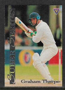 GRAHAM-THORPE-England-1994-FUTERA-ASHES-SUPER-SERIES-CRICKET-CARD-SS29