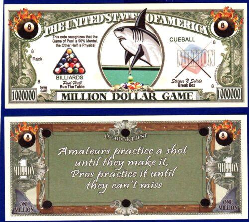 E1 Collectible with clear protector sleeve 1 Fairies Million Dollar Bill-