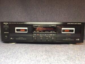 Denon-DRW-750A-Dual-Cassette-Deck