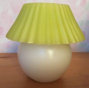 POINT A LA LIGNE : BOUGIE DECORATIVE Lampe plissée Lumière dans emballage