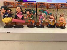 6PCS/set DragonBall Z The Historical Characters Goku Master Roshi Figure In Box