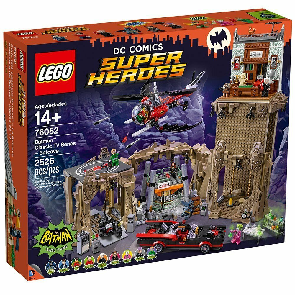 76052 LEGO Marvel Super Heroes Batman Classic TV Series - Batcave  New