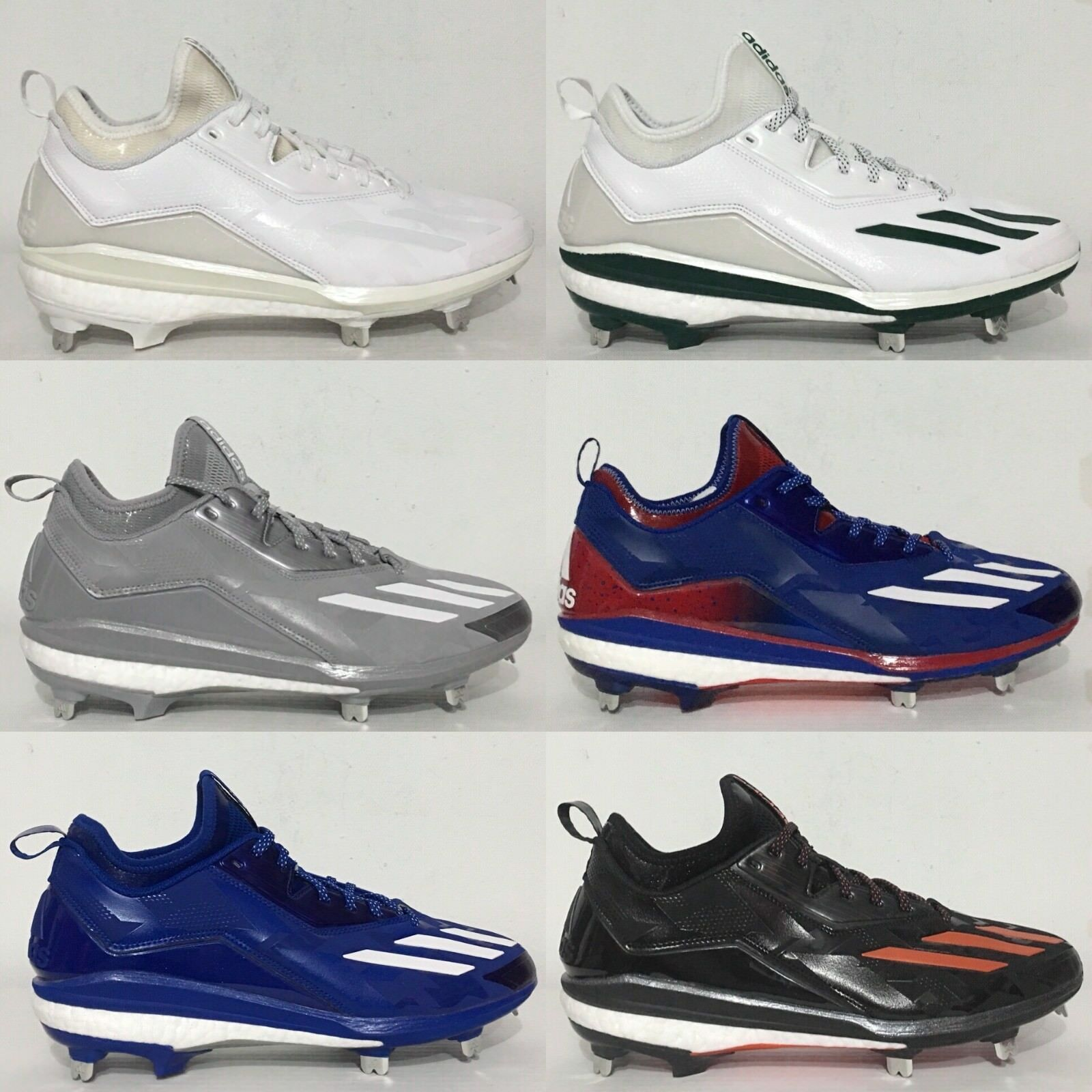 Adidas Boost Icon 2 2.0 metal señores béisbol zapatillas
