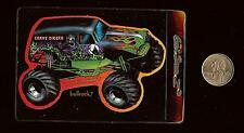 GRAVE DIGGER Monster Jam Vending Machine Sticker 2000 SFX Motor Sport Hot Wheels