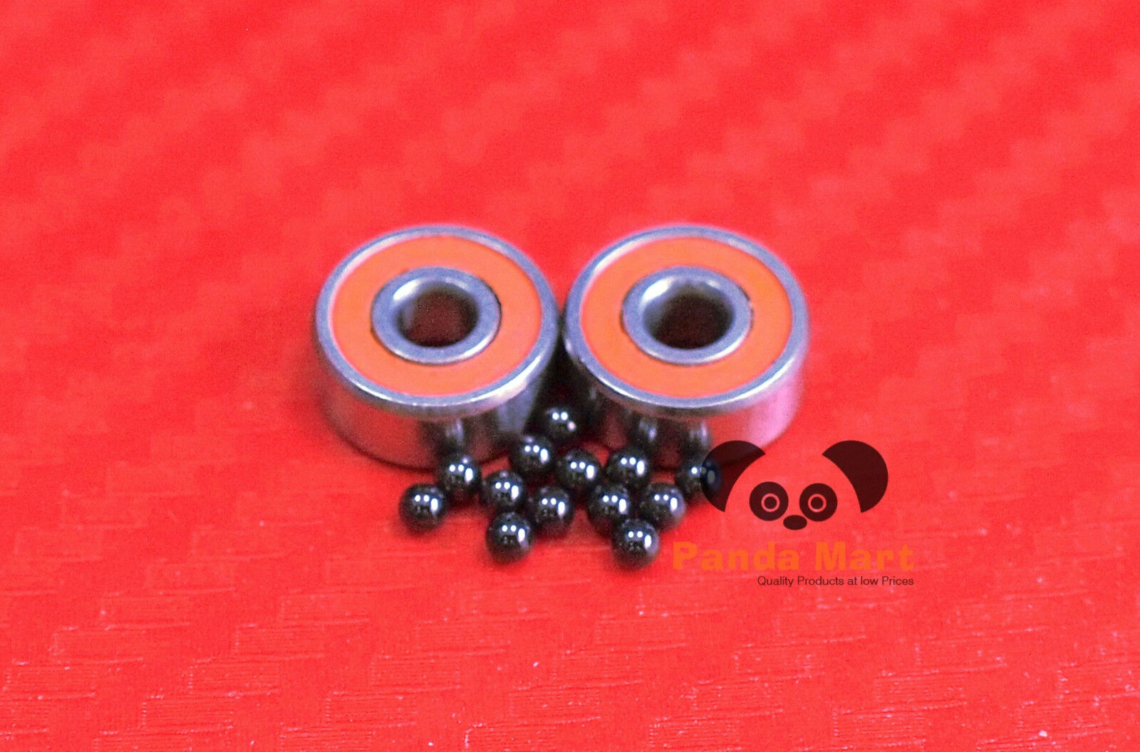 [QTY 10] S693C-2OS  AF2 ABEC-7 HYBRID CERAMIC orange Spool Bearings 3x8x4 384  very popular