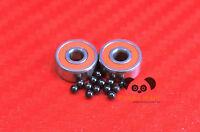 Hybrid Ceramic Ball Bearings Fits Penn 535 Gs — Graphite Abec-7 Bearing