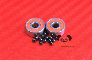 BAITCASTER ABEC-7 Hybrid Ceramic Ball Bearings Fits ABU GARCIA BLACK MAX 1