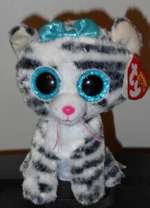 ad5cf5531d9 TY Beanie Boos ~ QUINN the Cat (6 Inch)(Clare s Exclusive) NEW MWMT ...