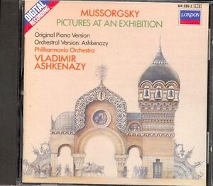 MUSSORGSKY  Pictures At An Exhibition  Piano amp Orchestral  Vladimir ASHKENAZY - <span itemprop=availableAtOrFrom>High Wycombe, Buckinghamshire, United Kingdom</span> - MUSSORGSKY  Pictures At An Exhibition  Piano amp Orchestral  Vladimir ASHKENAZY - High Wycombe, Buckinghamshire, United Kingdom