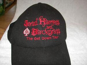 6c0f0c9d942f0 Jerad Harryess and Blackgrass get down tour band autographed hat ...