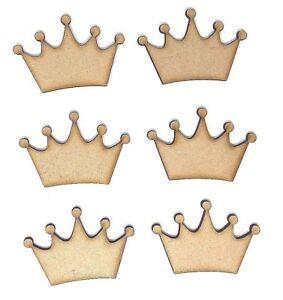 Crown-MDF-Wooden-craft-shape-embellishments-decoupage-5cm-6cm-7cm-8cm-9cm-10cm