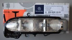 Genuine-Mercedes-Benz-Clase-E-211-Lampara-De-Indicador-De-Espejo-Lh-A2038201321-Nuevo