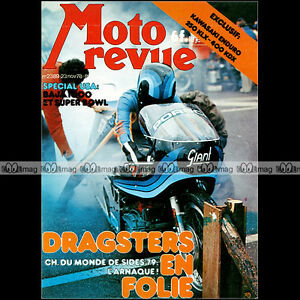 MOTO-REVUE-N-2389-KAWASAKI-KLX-250-KDX-400-SIDE-BENELLI-SEI-DRAGSTERS-BAJA-1978