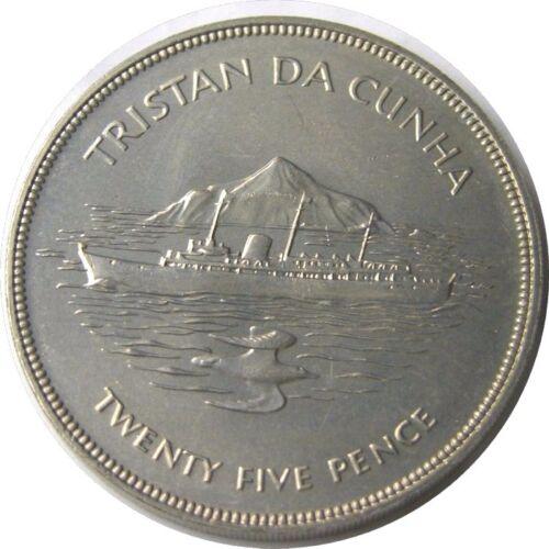 elf Tristan da Cunha 25 P 1977 Jubilee Ship Yacht