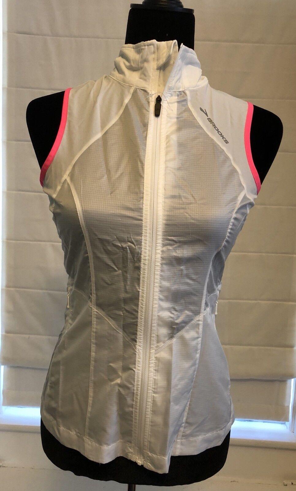 Brooks LSD Lite Vest Running Women's XS Lightweight Reflective MSRP  NEW