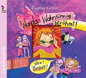 DAGMAR-GEISLER-WANDA-WAHNSINNIG-BERUHMT-2-CD-NEU