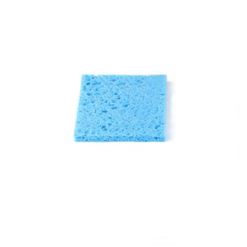 60x60mm Soldering Iron Cleaning Pads Sponge Tip Welding Solder Iron Clean Blue