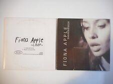 Unique Lot de 2 CD Single ▬ FIONA APPLE ▬ Port GRATUIT