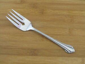 Oneida-Clarette-Cold-Meat-Fork-8-3-8-034-Community-Stainless-Flatware-Silverware