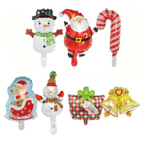 *Christmas Santa Claus Party Foil Balloon New Year Snowman Ballon Decoration New