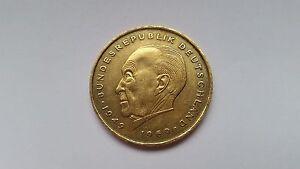 Gold Münze 2 DM 1985 J Konrad Adenauer - Deutschland - Gold Münze 2 DM 1985 J Konrad Adenauer - Deutschland