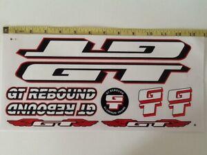 GT Rebound Stickers Yellow Black /& Silver