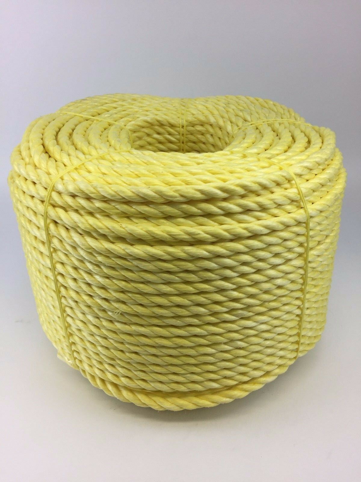 14mm Yellow Polypropylene Rope x 220m Coil, Yellow Poly Rope Coils, Polyrope