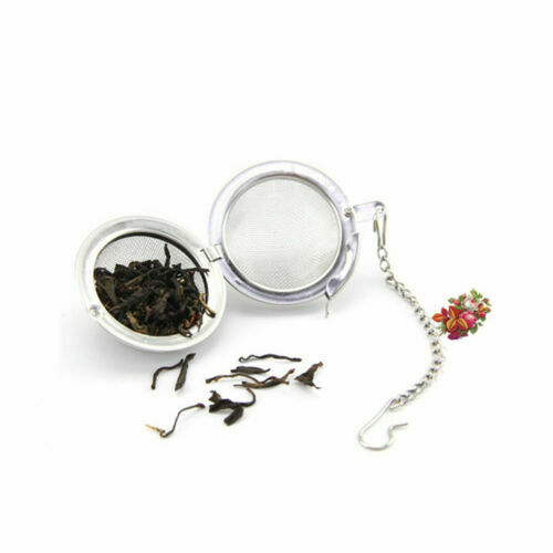 Tea Ball Spice Strainer Mesh Infuser Filter Diffuser Stainless Steel Herbal Mini