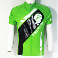 Men Fashion Bicycle Jersey Racing Cycling Clothing Bike Mountain T-Shirt Green