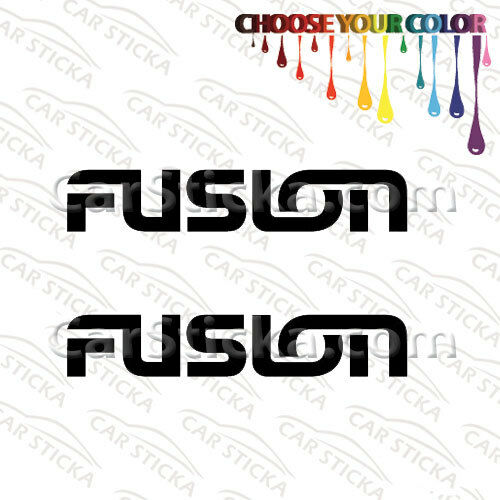 """2 of 8/"""" Fusion Audio //A aftermarket car window bumper stickers decals die cut"""
