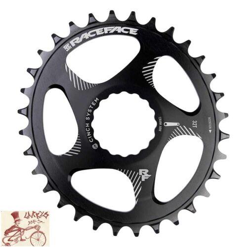 RACEFACE SINCE OVAL 34 T 9-12 Vitesse Noir Direct Mount Vélo chainring