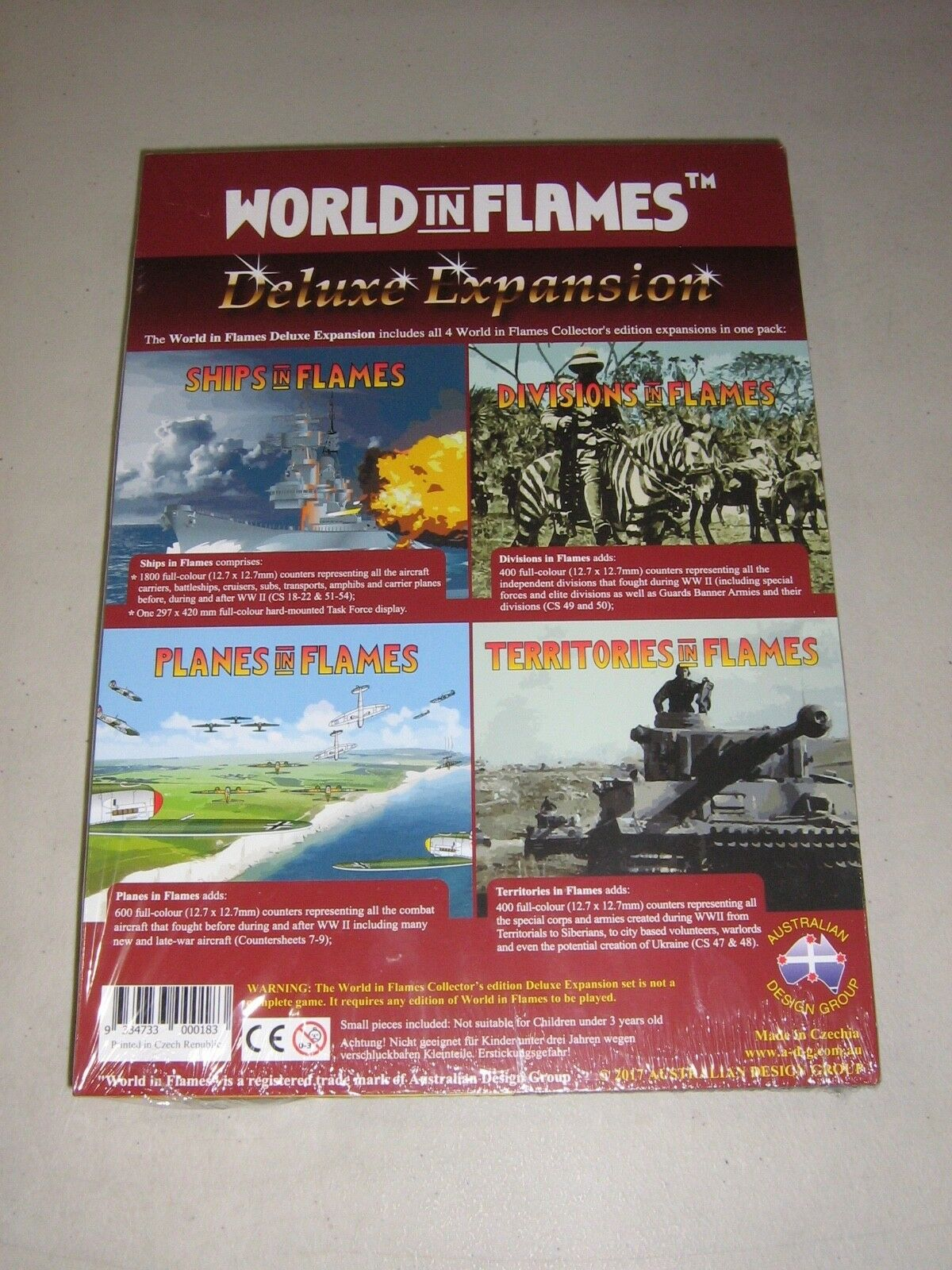 World in Flames Collector's Edition Deluxe Expansion  Nuovo