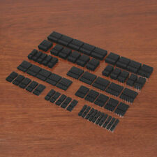 "Connector Pack Kit - 2.54mm 0.1"" Motherboard Dupont Type Black Housings + Crimps"