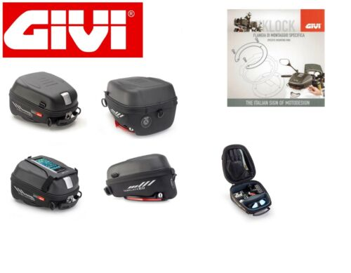 GIVI ST605 TANKLOCKED TANK BAG 5LT + FLANGE for TRIUMPH 800 TIGER 2013
