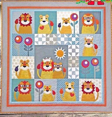 Me /& My Red Boots applique /& pieced quilt PATTERN Eight Little Teddy Bears