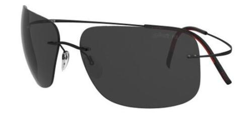 Silhouette TMA ULTRA THIN 8677 black//grey polarized Sunglasses 6238 A