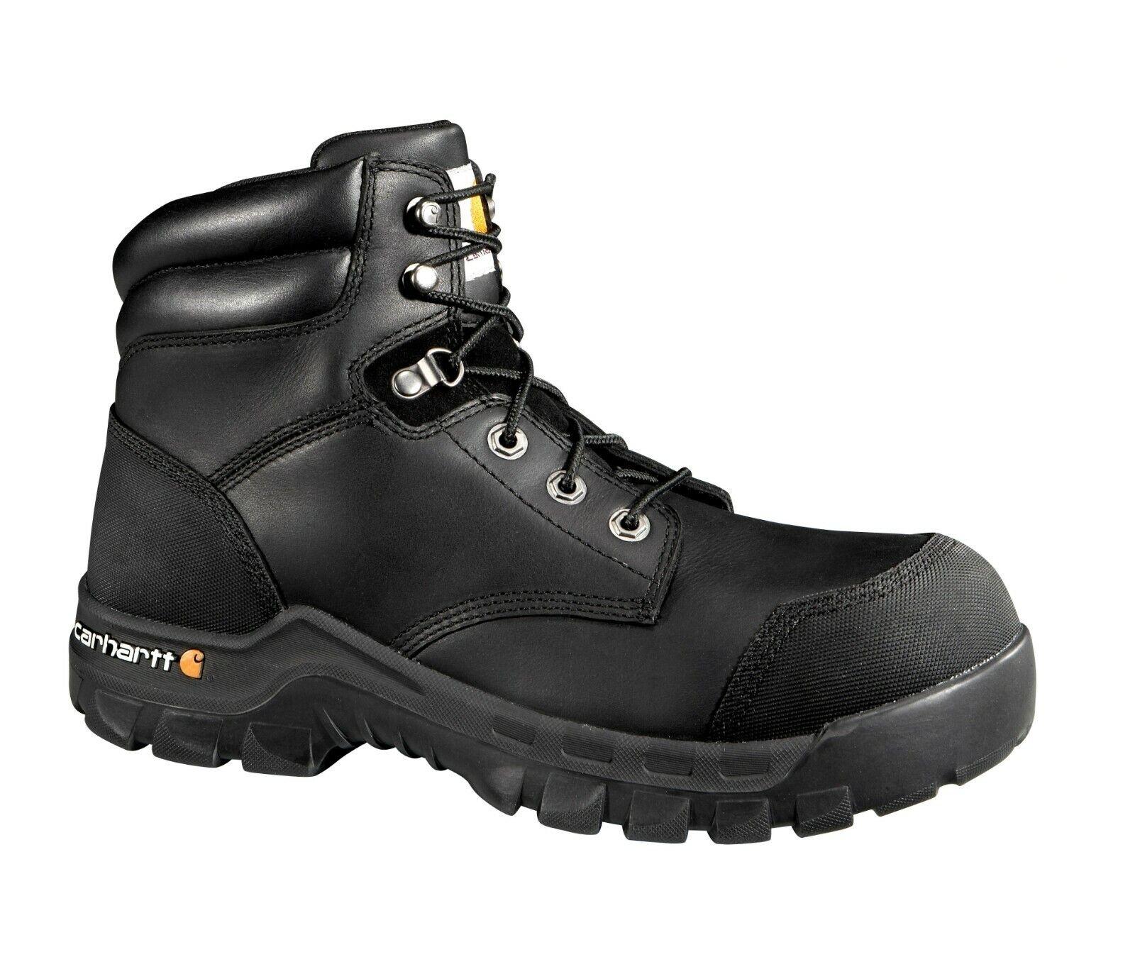 Zapatos De Cuero Carhartt CMF6371 para Hombre Resistente Flex 6  Composite Toe botas De Trabajo