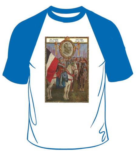 Shirt S-XXL KAISER GUILLAUME II//Patriot//Allemagne//Germany Nous allemande..