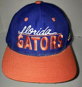 dcfc991a1 Details about UNIVERSITY OF FLORIDA GATORS BALL CAP HAT *SNAP BACK* ONE  SIZE FITS ALL UF